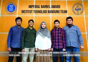 2nd Place Kompetisi IBA (Imperial Barrel Award) Regional Asia Pasifik 2021 Tim Mahasiswa FITB